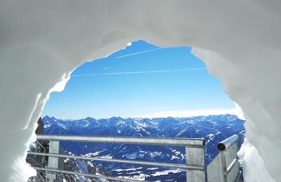 poortje naar de alpen